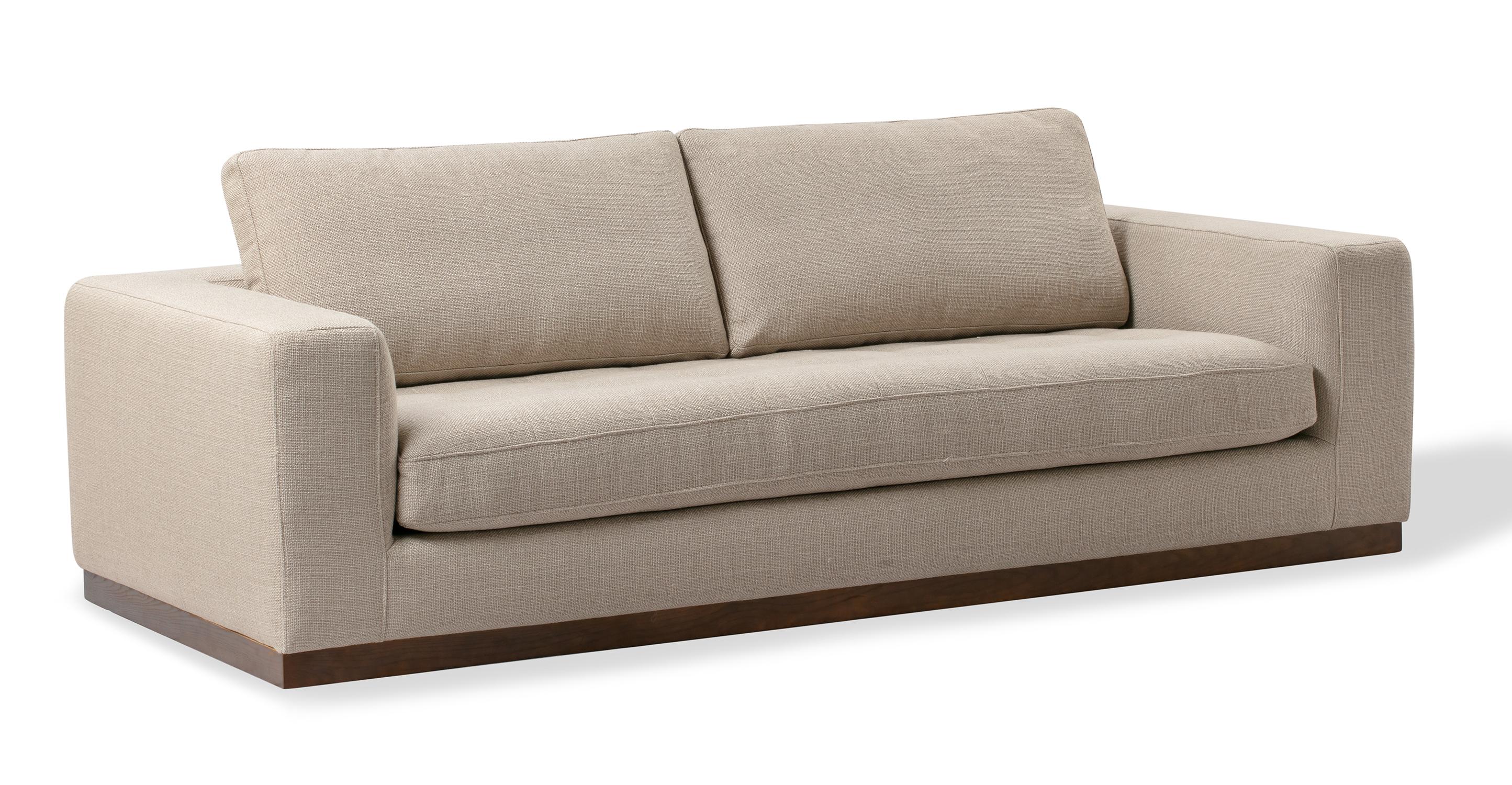 "Newport 91"" Fabric Sofa, Dunes"