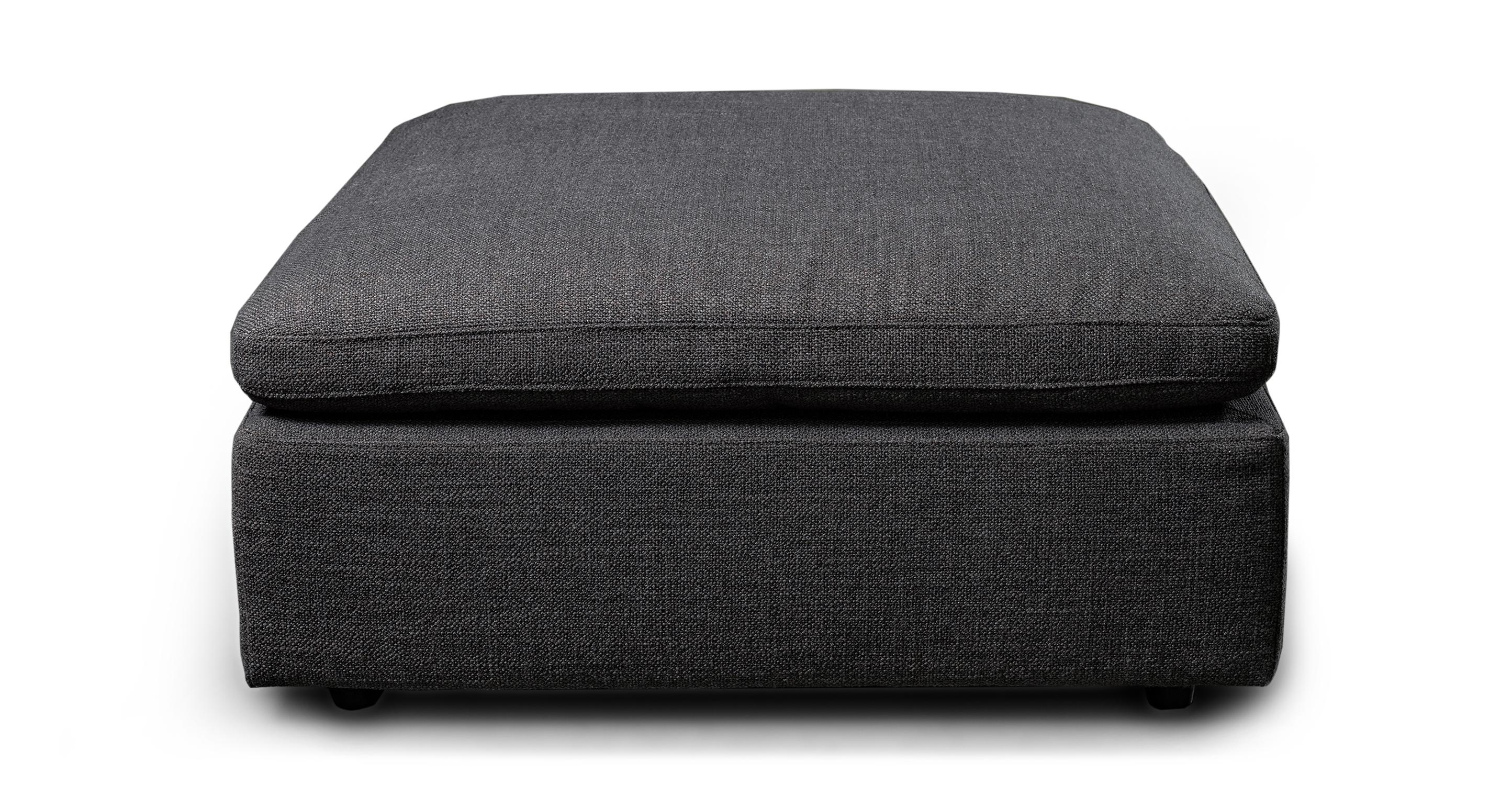 "Nest Modular 40"" Ottoman, Dior Grey"