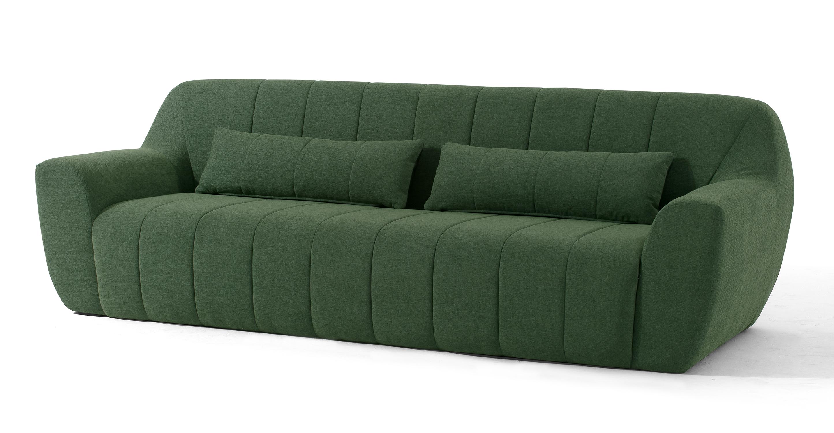 "Cooper 101"" Fabric Sofa, Thyme"