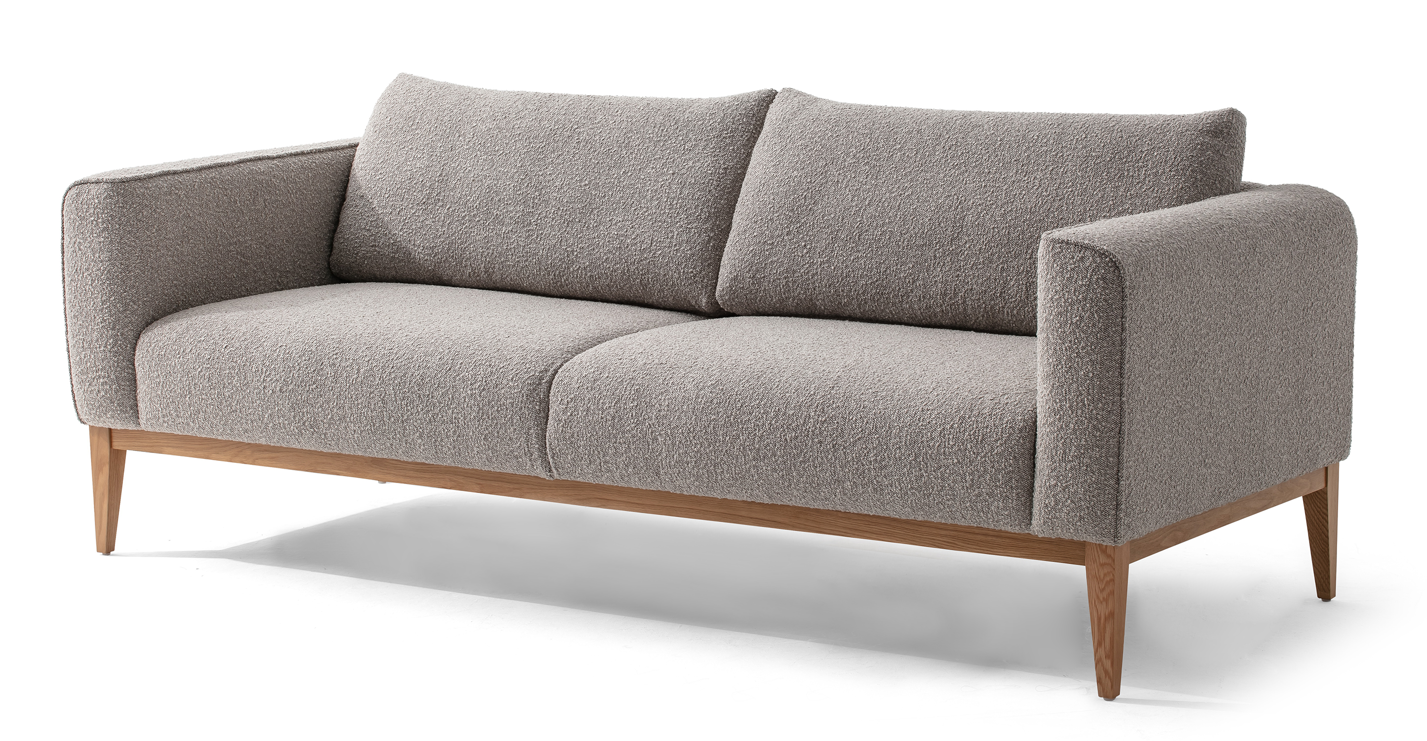 "Colin 84"" Fabric Sofa, Bocce Boucle"