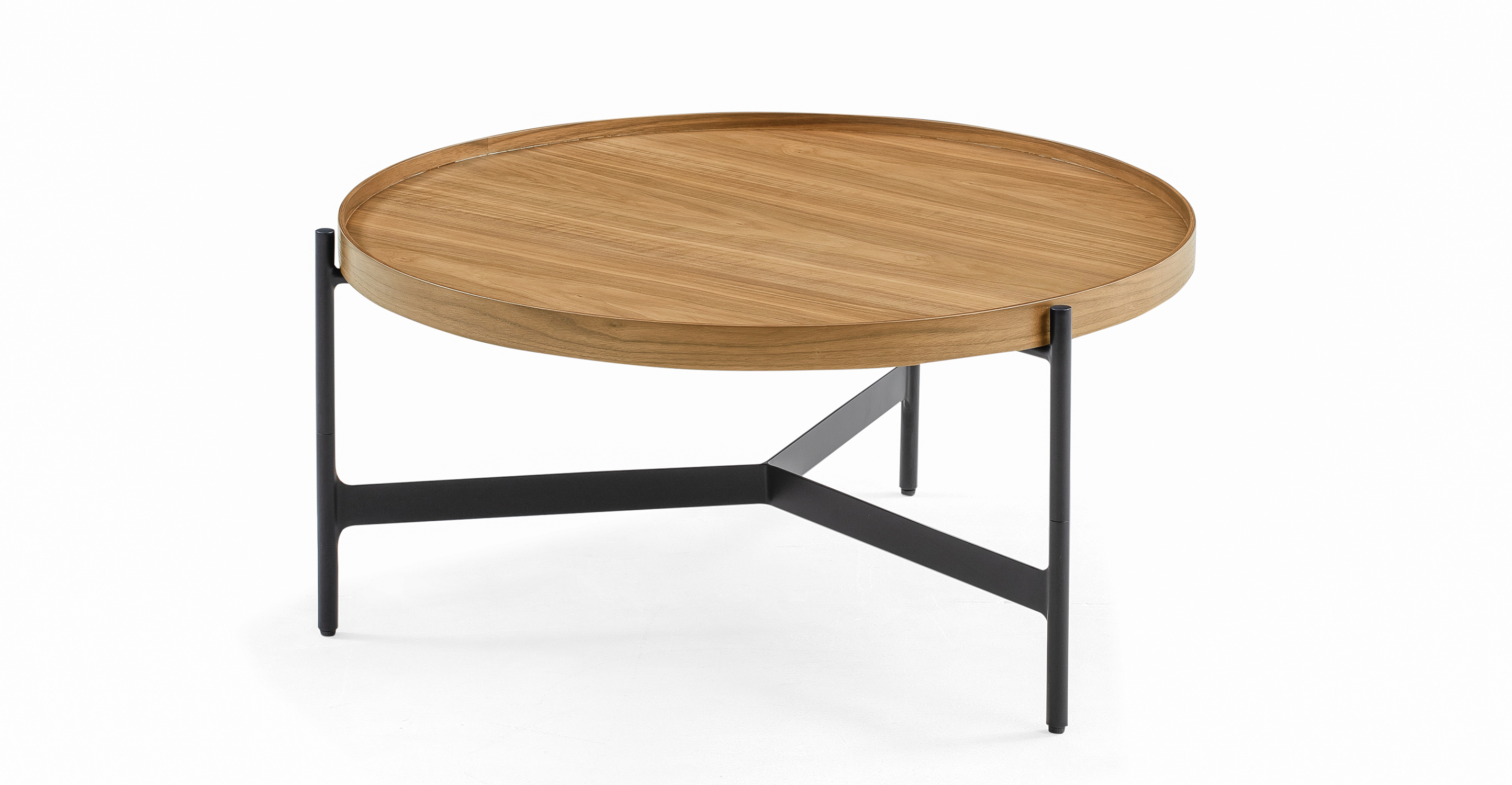 """Swell 32"""" Tray Coffee Table, Natural Oak"""