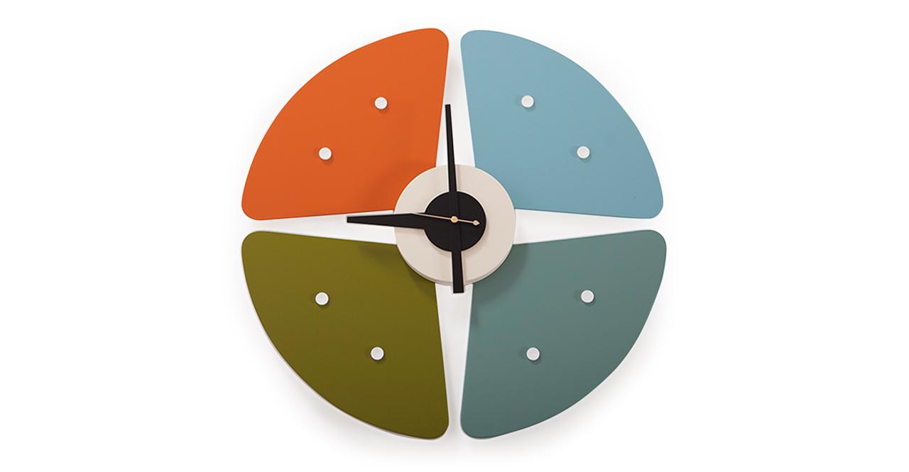 George Nelson Petals Clock