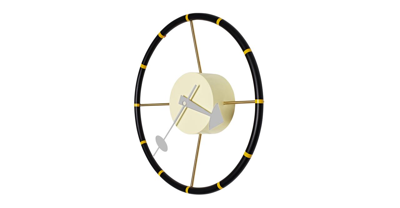 George Nelson Steering Wheel Clock