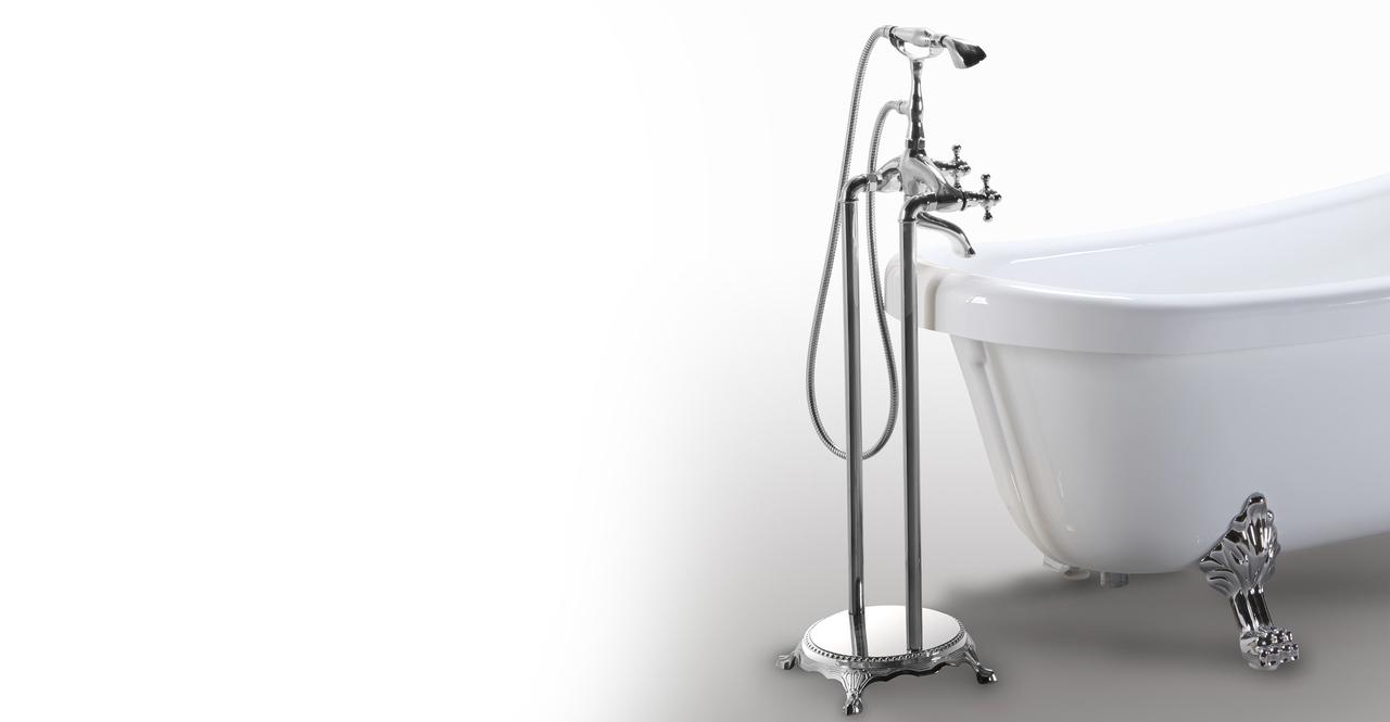 modern clawfoot tub delos