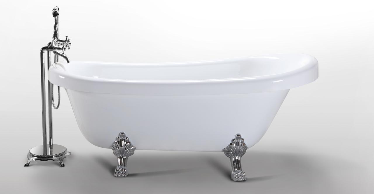 """Delos Clawfoot Bathtub 67"""""""