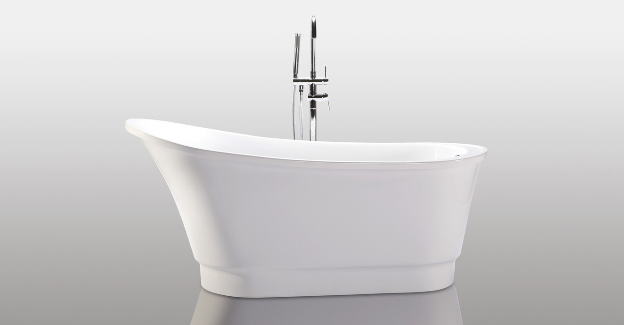 "Olympia Bathtub 67"" Round Overflow"