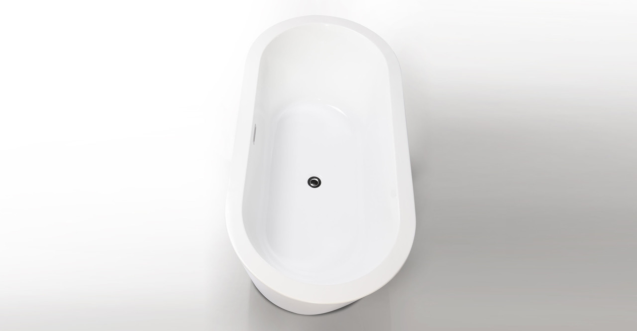 "Pella Bathtub 59"" Rectangle Overflow"