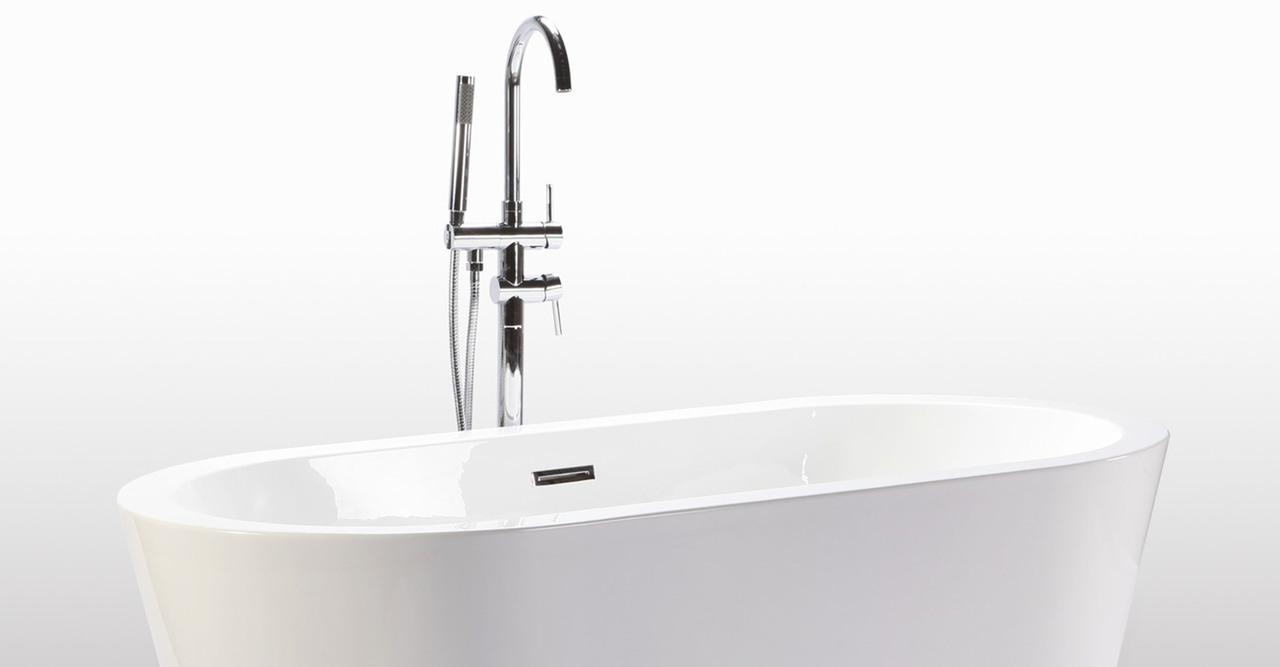 Pella freestanding designer bathtub