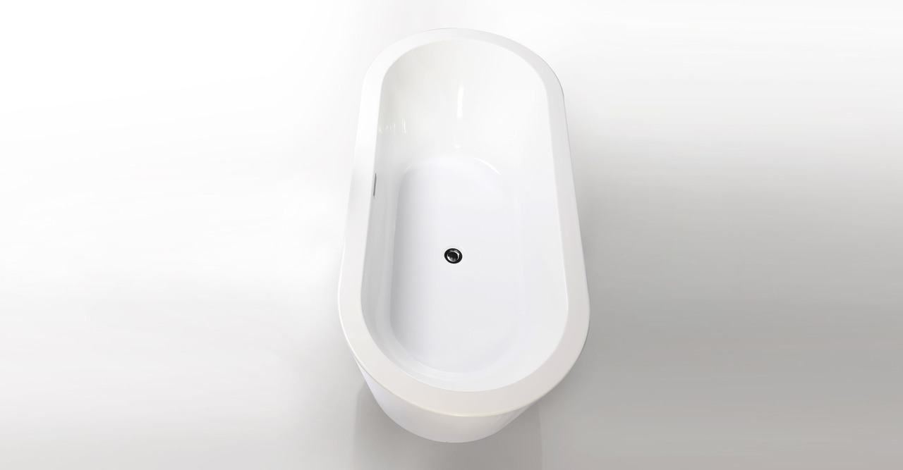 "Pella Bathtub 68"" Rectangle Overflow"
