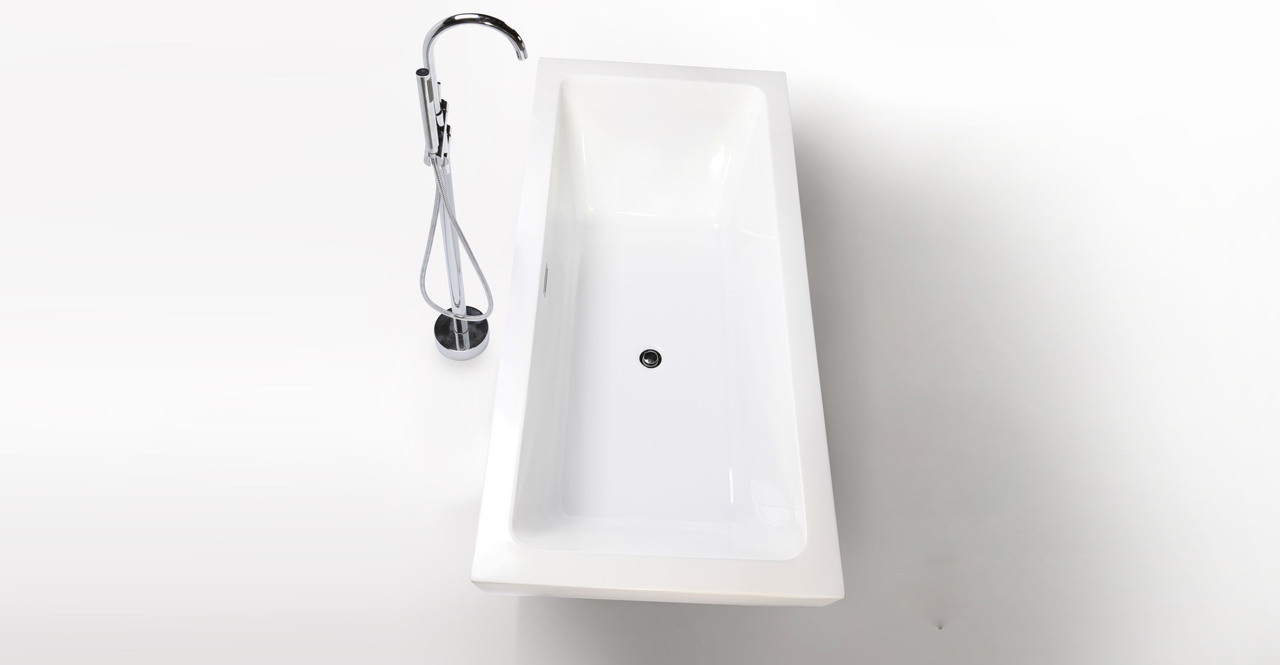 Pergamon freestanding helix designer bathtub