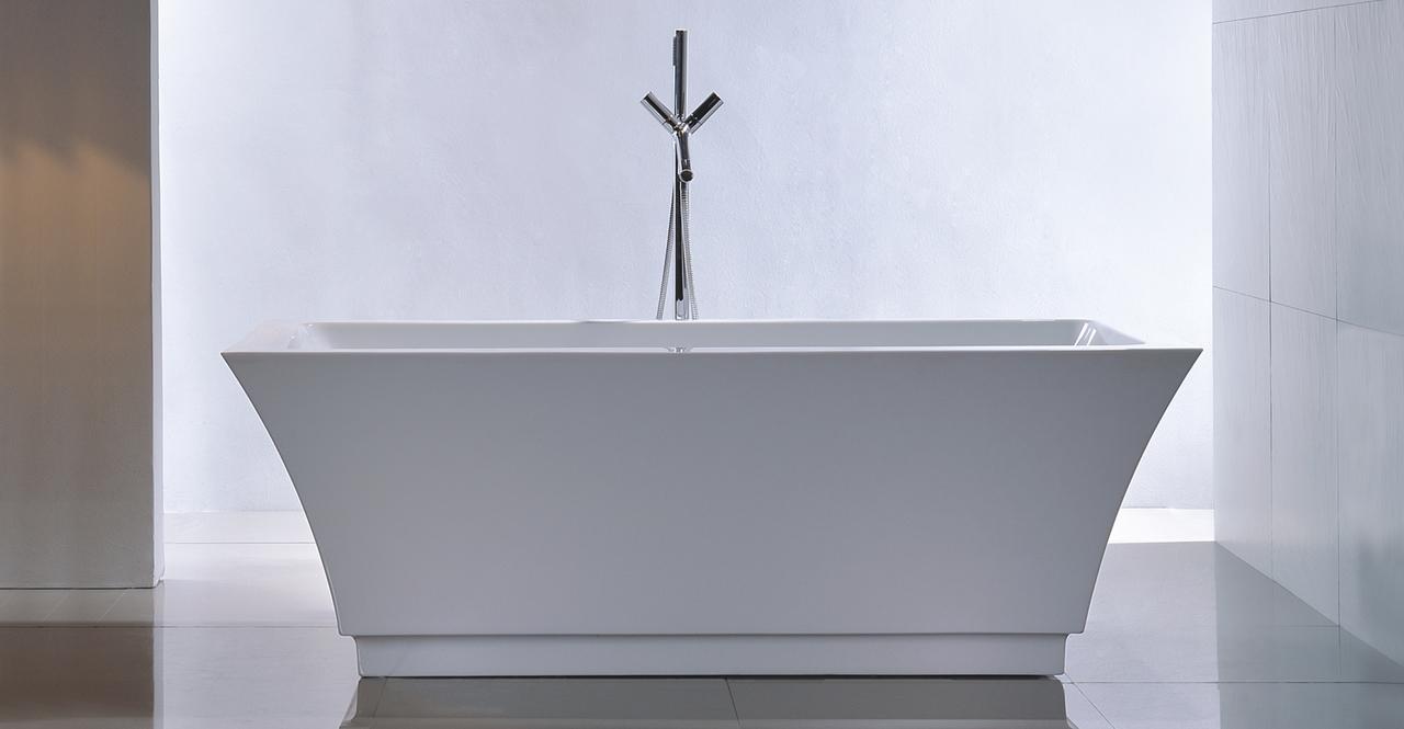"Pergamon Bathtub, 59"" Rectangle Overflow"