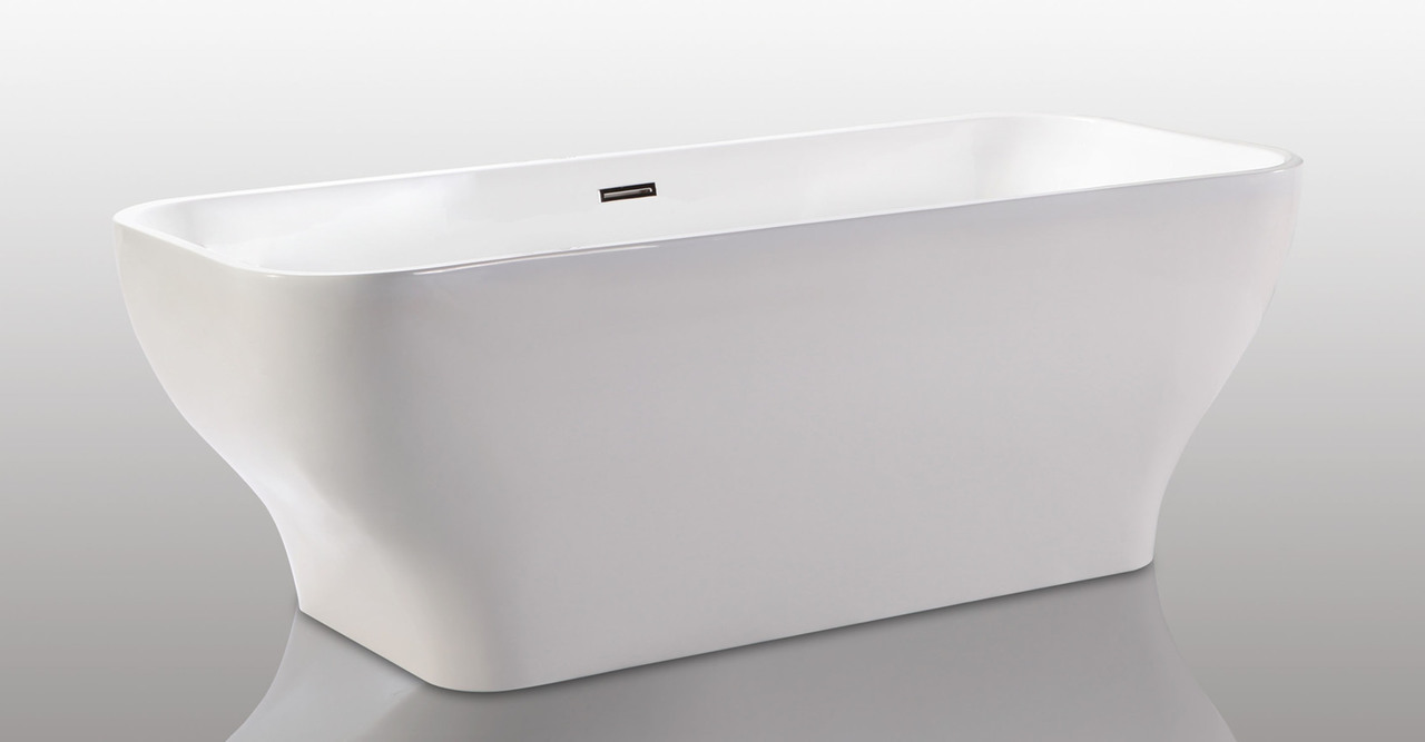 Freestanding designer bathtub kardiel