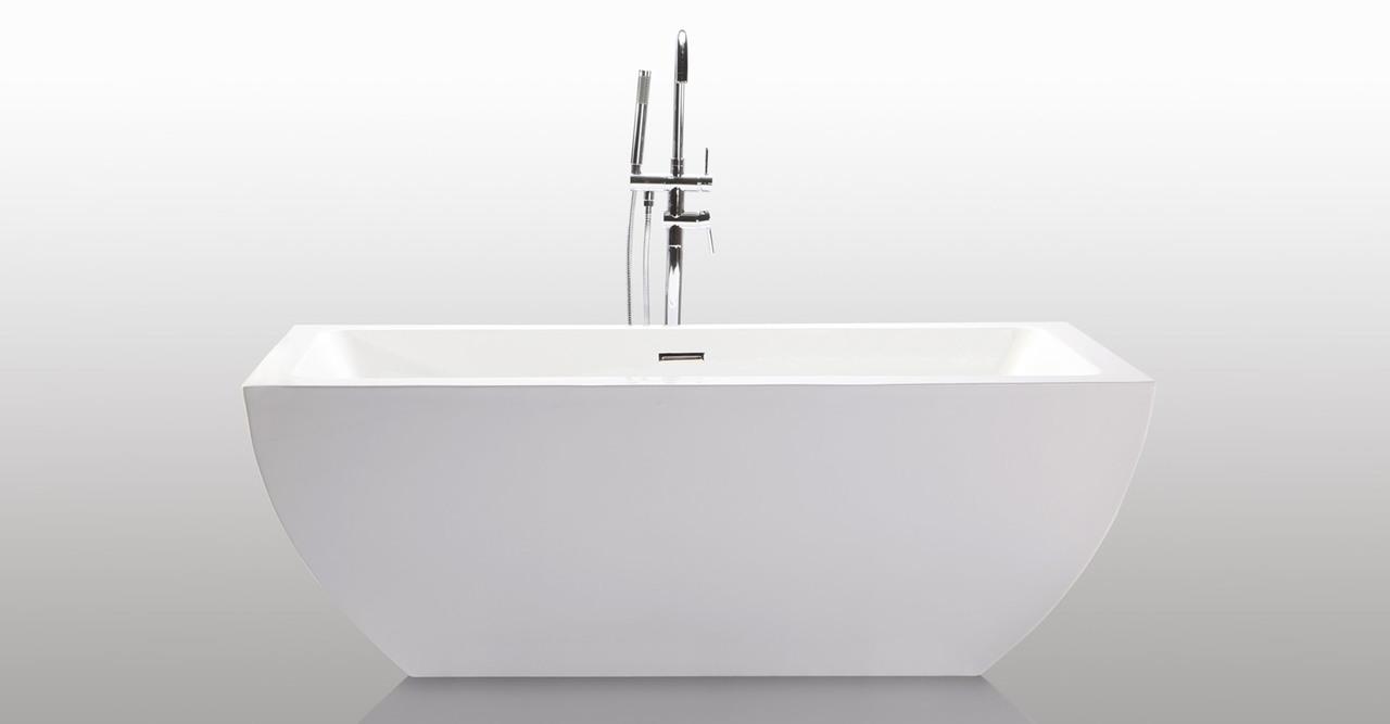 Velia freestanding Bathtub helixbath