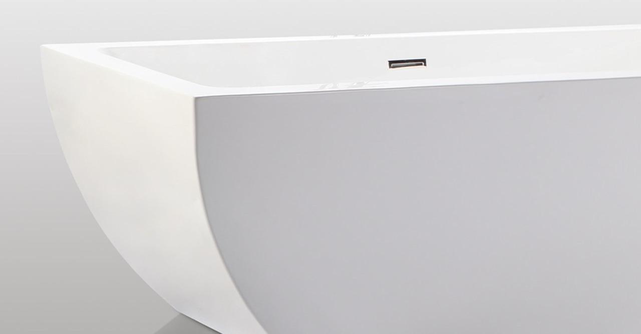 Velia freestanding Bathtub helix bath