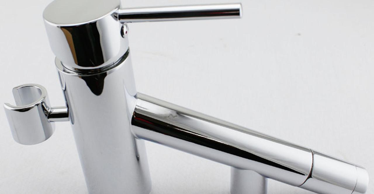 Dettifoss Tub Faucet, Chrome