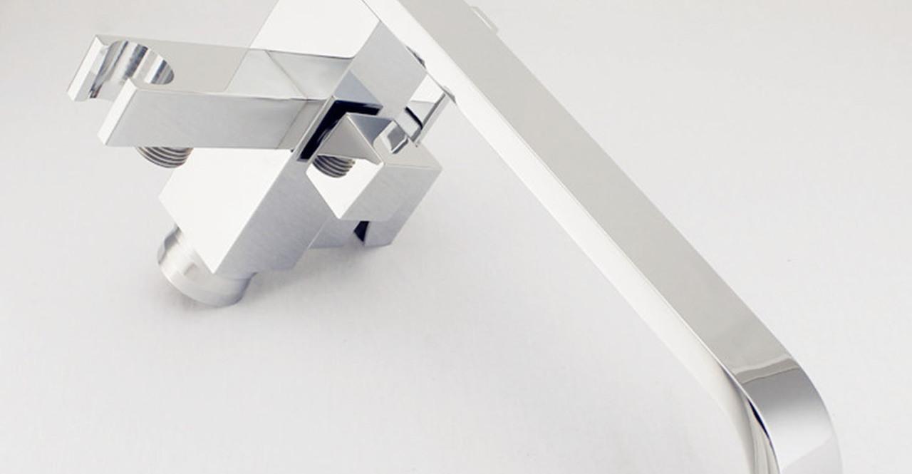 Kaieteur Tub Faucet, Chrome