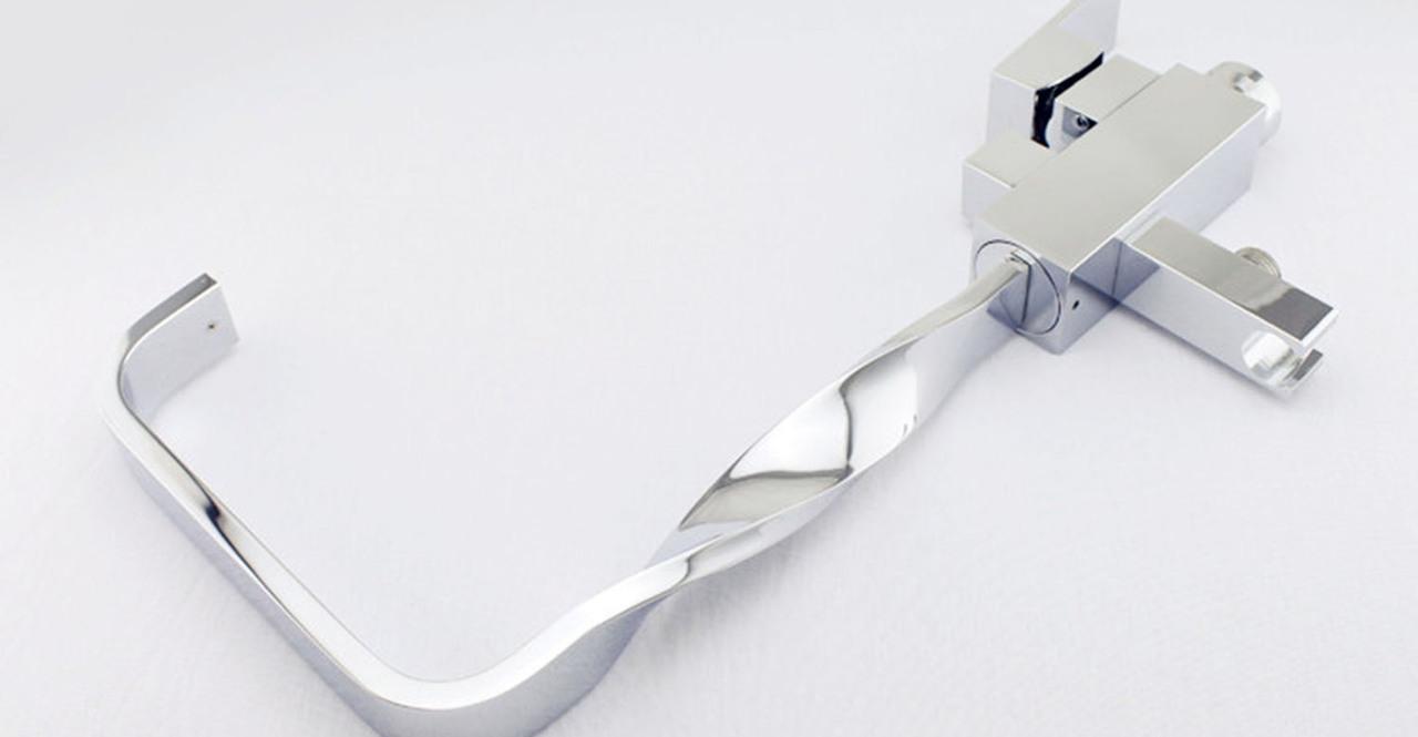 Plitvice Tub Faucet, Chrome