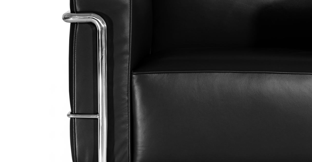 Roche Chair, Black Premium Leather