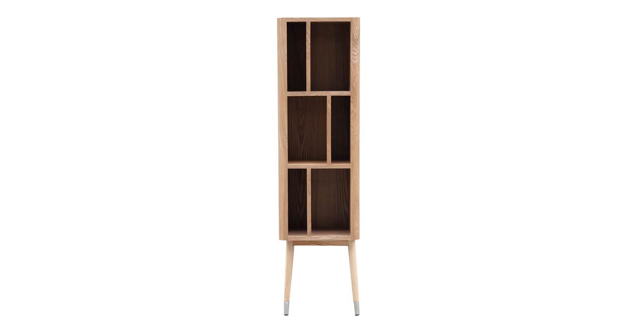 mid century modern upright cabinet