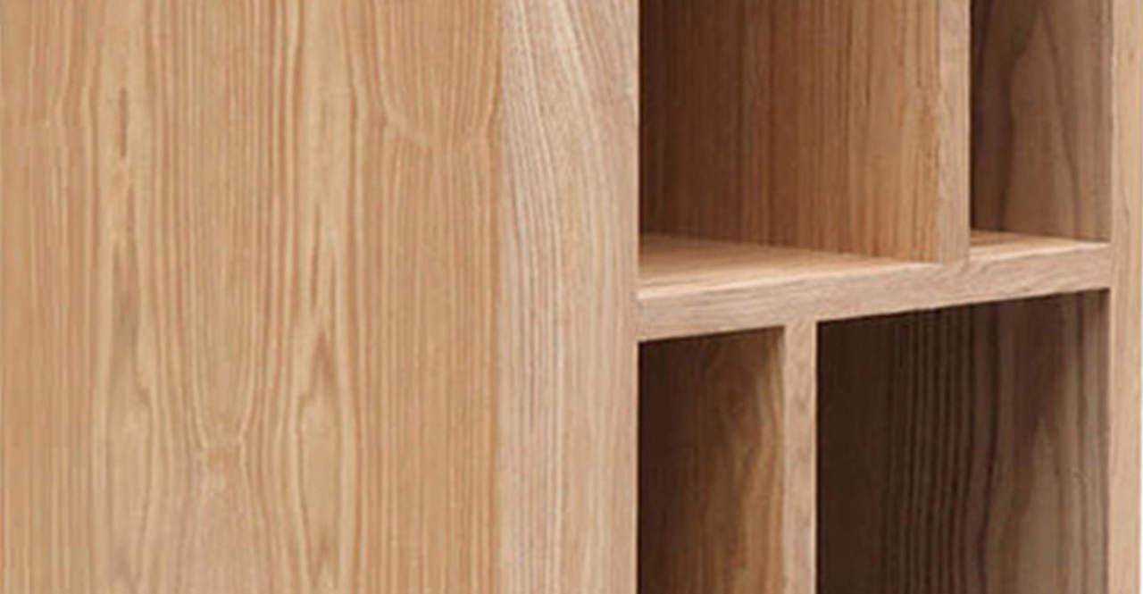 mid century modern vertical curio cabinet