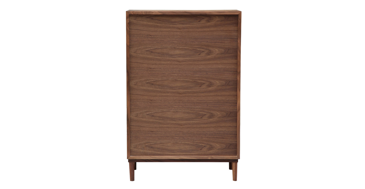 Vodder Tall Boy, Walnut