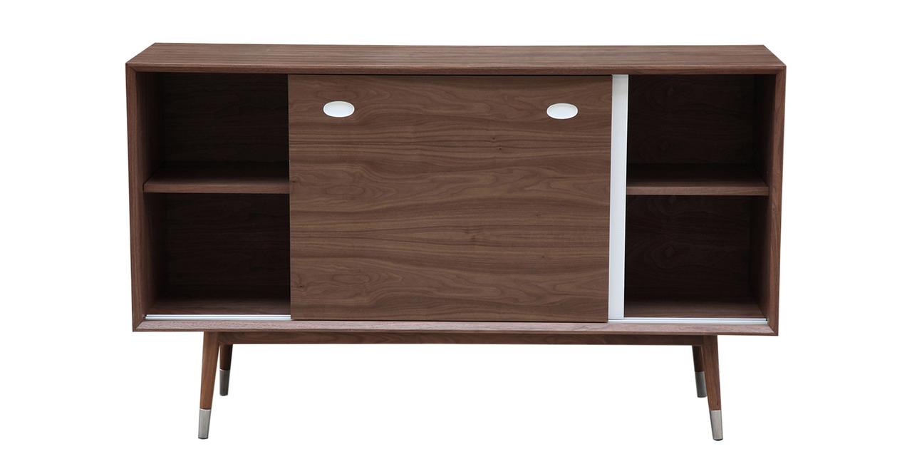 mid mod storage cabinet credenza