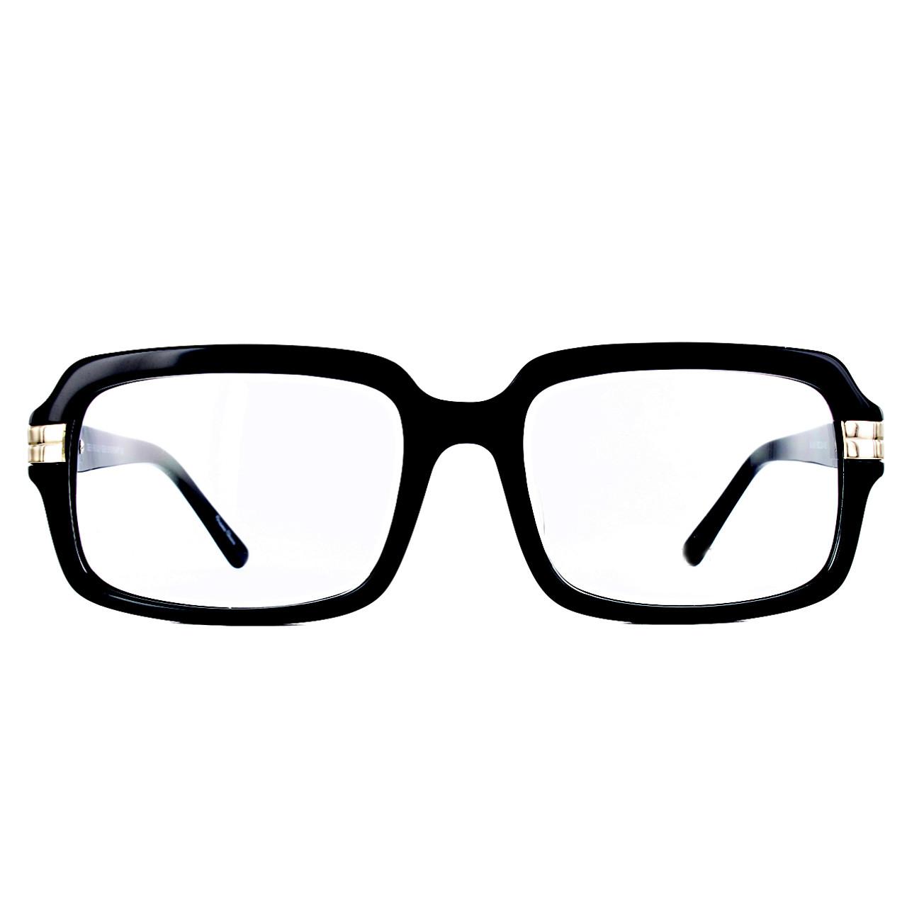 GEEK Eyewear GEEK ROUQ 8 Black Frame