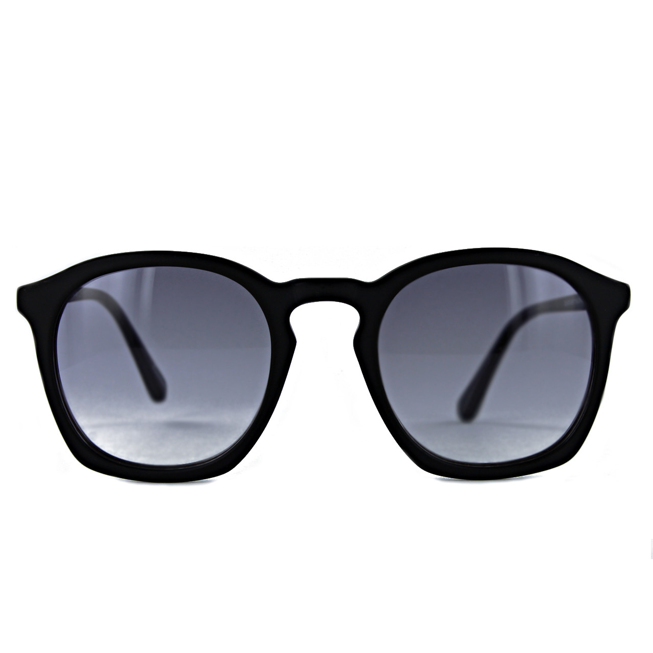 Black Matt with Gradient Grey Lenses