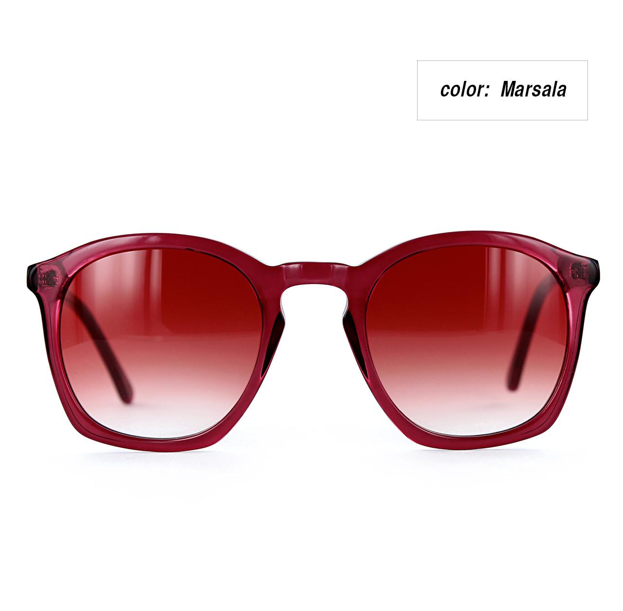 Rouq 4.0 Marsala with Gradient Marsala Lenses