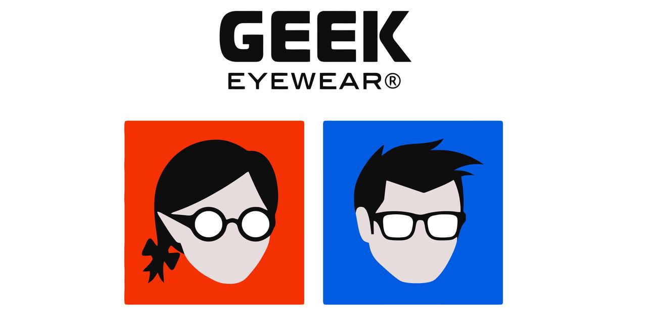 Eyeglass Case + Cleaning Cloth Geek Eyewear