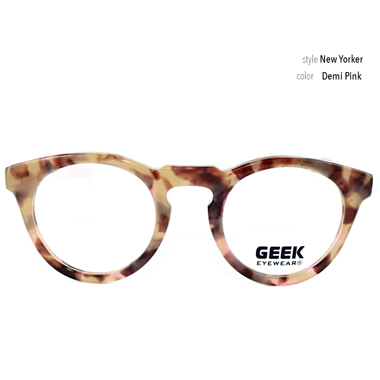 GEEK Eyewear GEEK New Yorker Pink