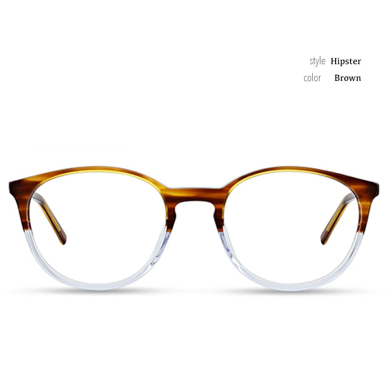 GEEK Eyewear Style Hipster Brown