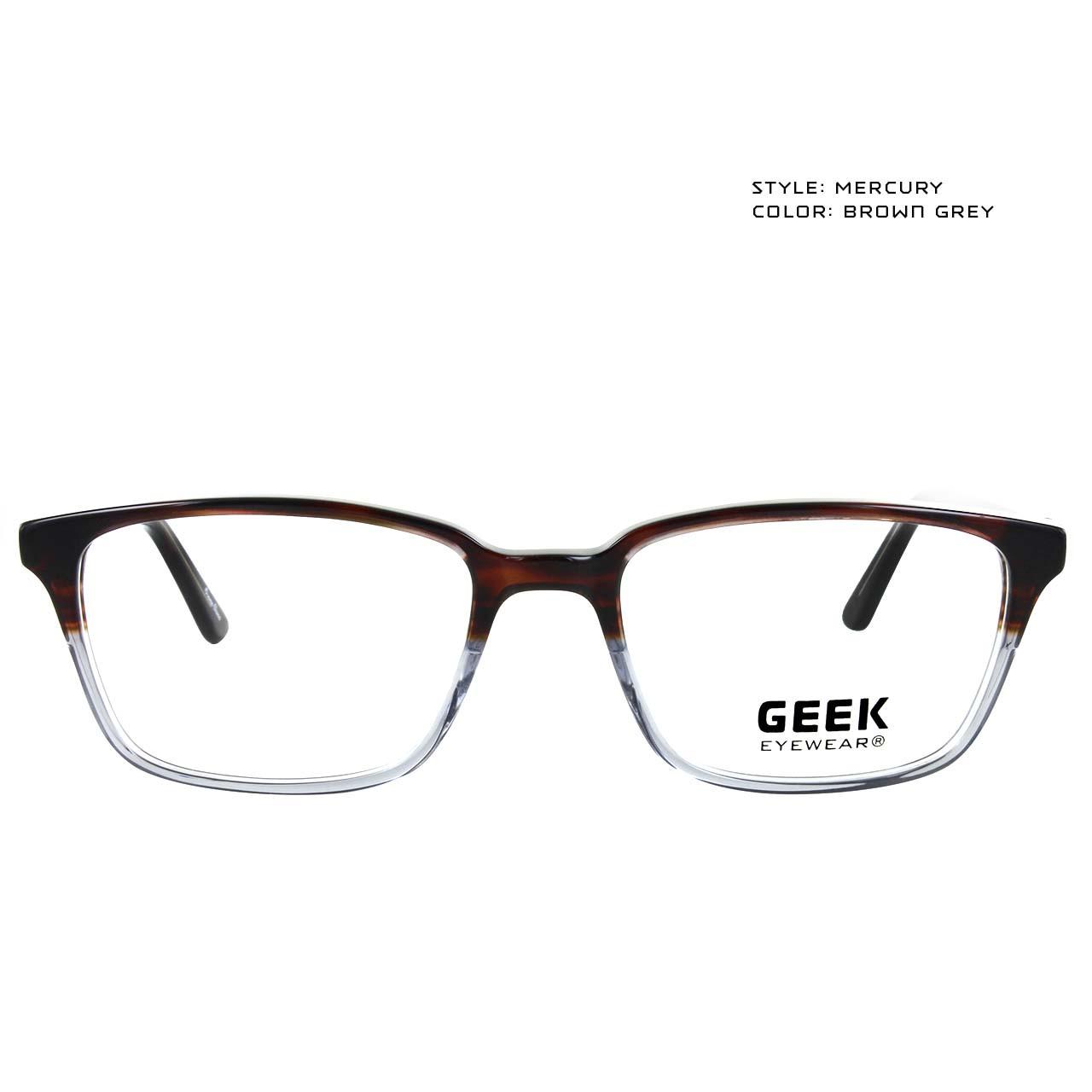 GEEK Eyewear GEEK MERCURY Brown-Grey