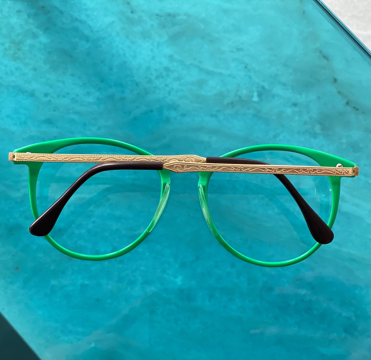 GEEK Couture Style Green Stylish Glasses