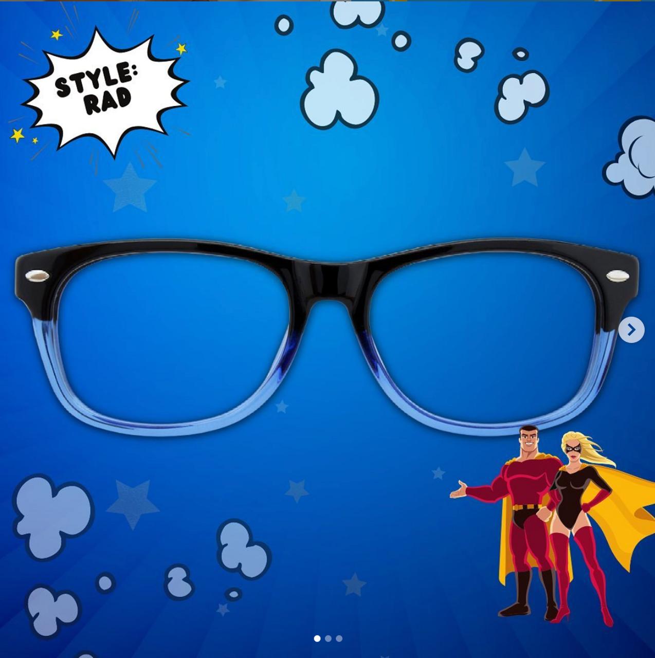 GEEK Eyewear Geek RAD 09 with Blue Light Filter Lenses
