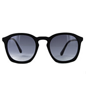 Black Matt with Gradient Grey Lenses