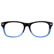 Black/Blue with Black Temples