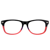 Black/Red with Black Temples