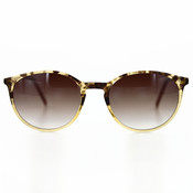 Sunglasses:  Tortoise with Brown Fade Lenses