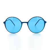GEEK COUTURE Mod Chic Sunglasses Blue