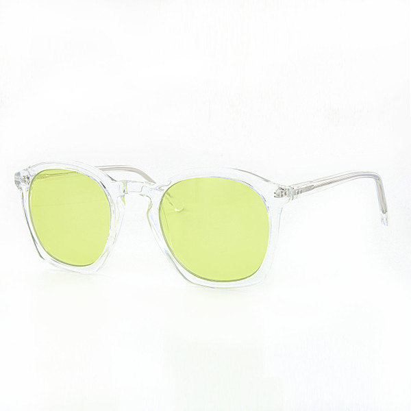 GEEK COUTURE 4 Crystal Clear Sunglasses Yellow Lenses