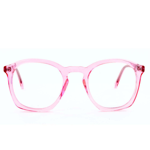 GEEK COUTURE® Oversized Glasses Light Pink