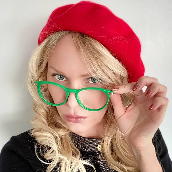 Couture  Green Oversized Glasses | GEEK COUTURE