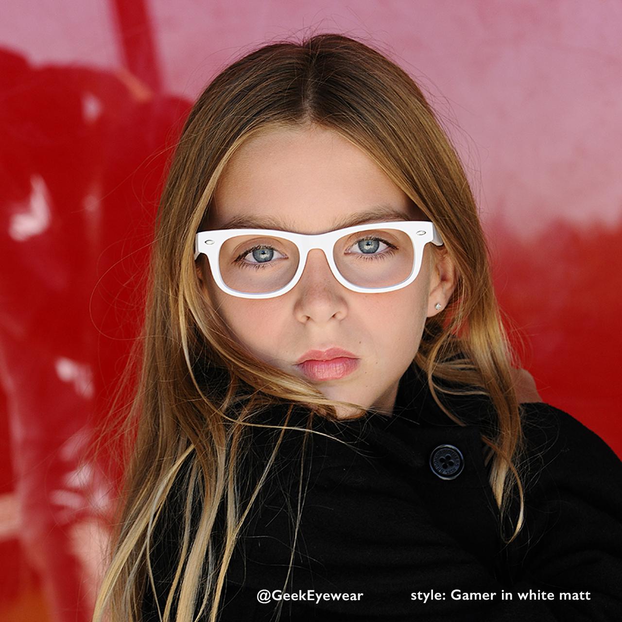 2ad70a9f7bdf4 Geek Eyewear® style GAMER Junior