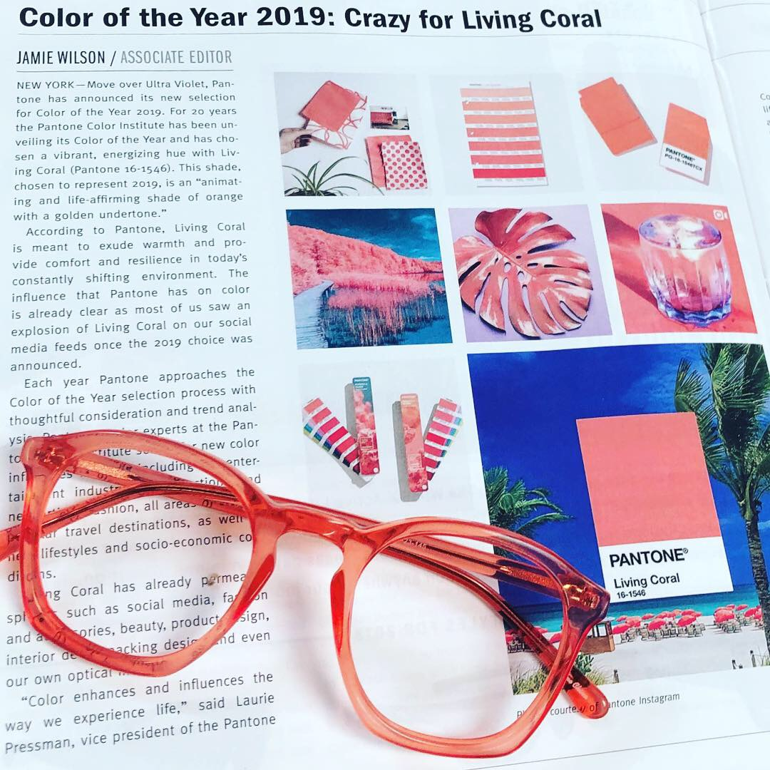 Geek Couture Living Coral style 4.0