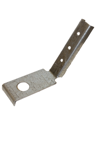 Galvanized steel 60 degree angled bracket for anchoring 2x4 on edge. For use with PE10, PE18, PE18SQ and PE26 Penetrator anchors
