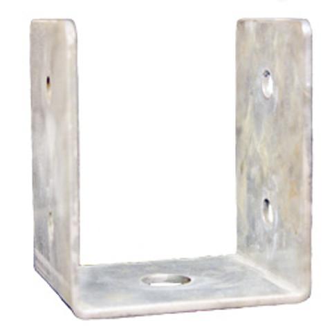 """(PE46-44V) Large Penetrator """"U"""" bracket for securing 4x4 lumber vertically"""