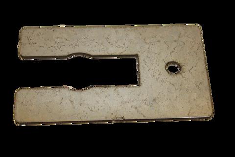 (PE-Tent-15) Steel flat bracket for 1-1/2-inch post