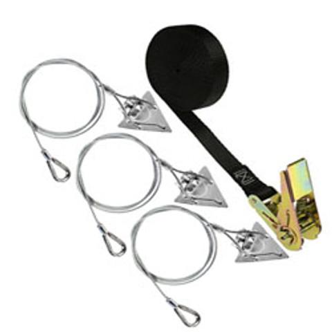 (3ST-RB-3) Rootball steel arrowhead anchor kit