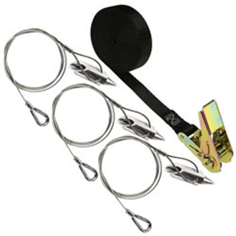 (3AL-RB-3) Rootball aluminum bullet anchor kit